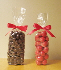 clear standup bags, great for candy buffet